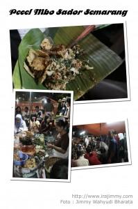 Kuliner Semarang - Pecel Mbo Sador