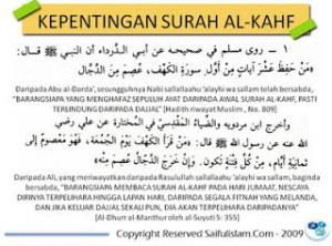 kisah dajjal dan keutamaan surat al kahfi