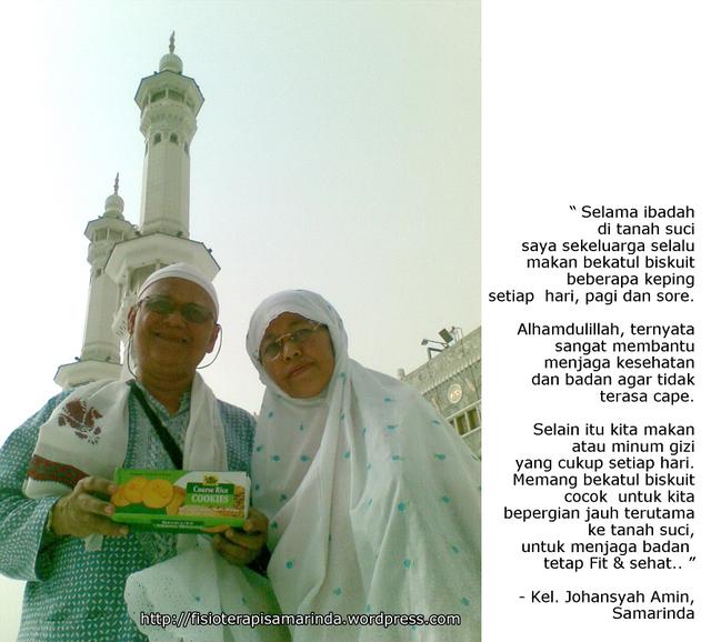Biskuit Bekatul - Perlengkapan Haji