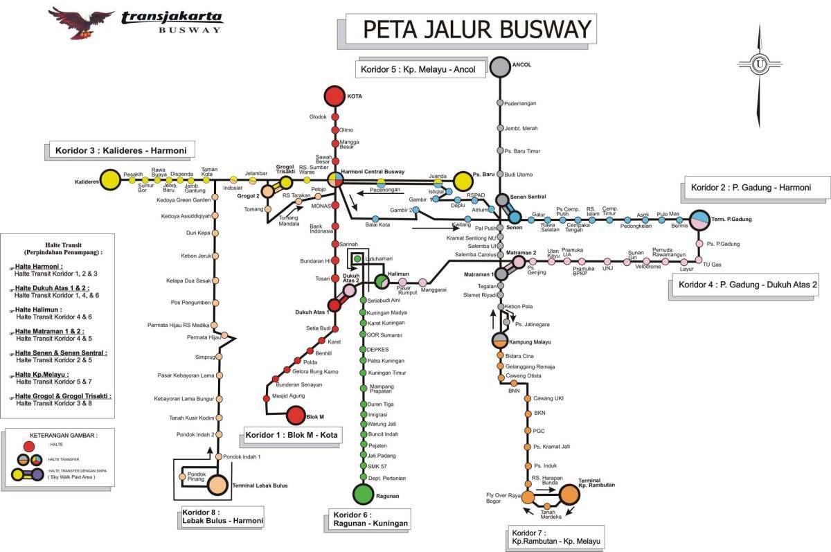 jalur busway wisuda akbar GBK
