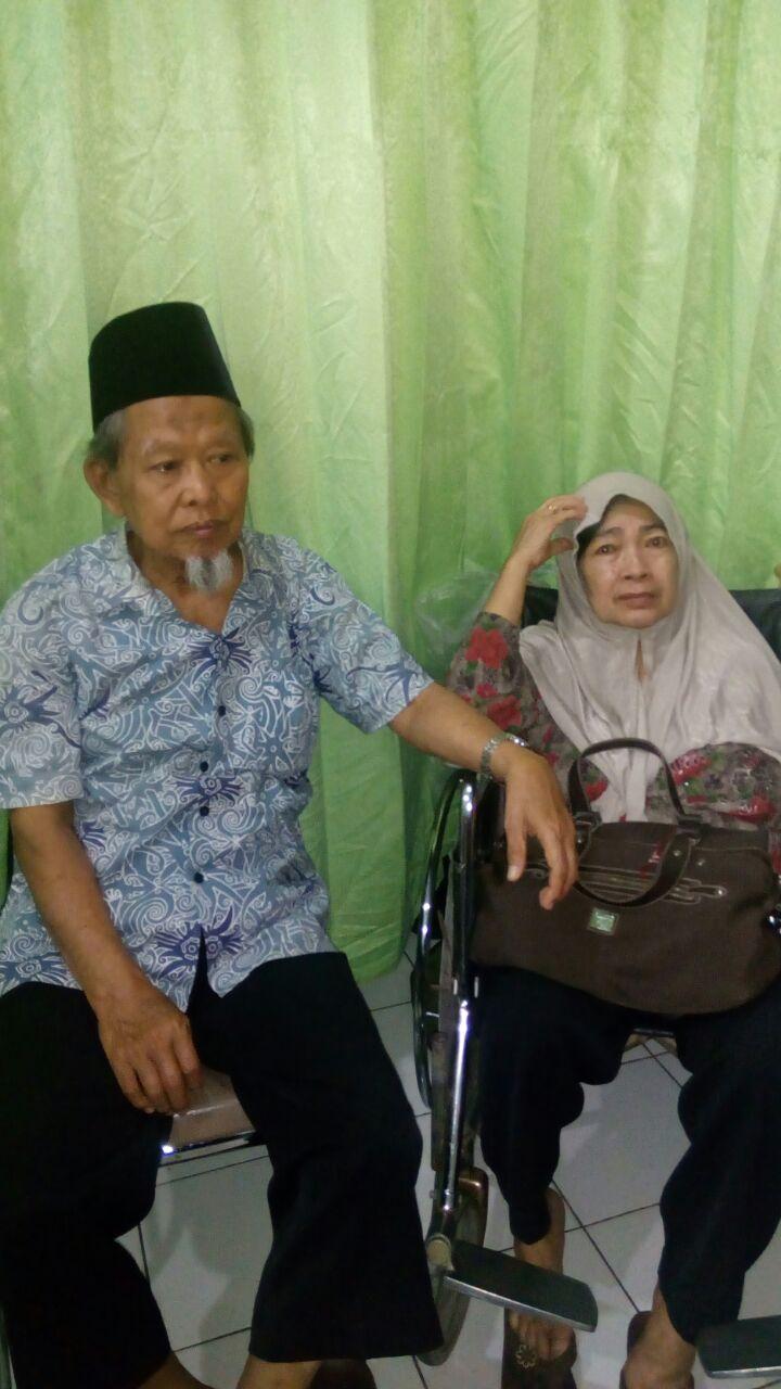 kedua orangtua Dudi, Bp Hamid