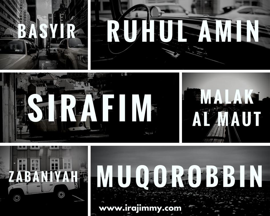 Nama Lain Malaikat Ruhul Amin Karubiyyun Muqorobbin Kiraman Katibin